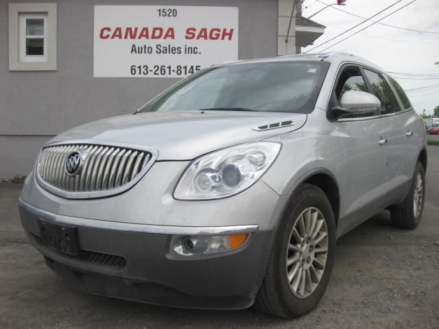 2010 BUICK ENCLAVE CX, 7 PASS, BCK UP CAM, BTOOTH, 12 M WRTY+SAFETY in Ottawa, Ontario