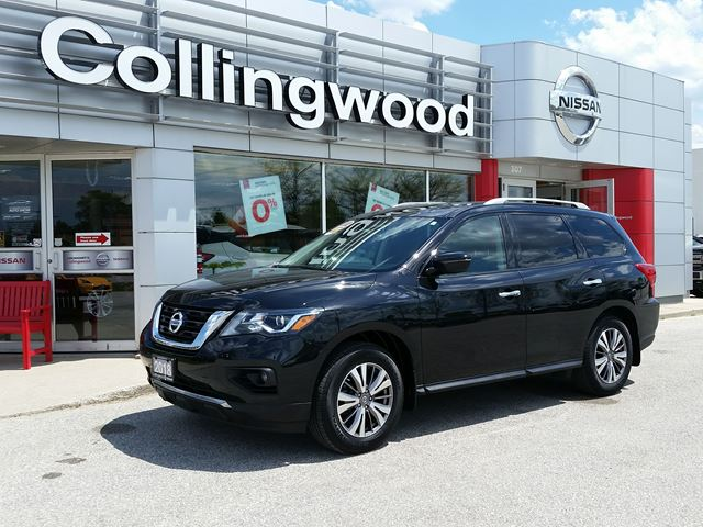 2018 NISSAN Pathfinder SV TECH AWD *1 OWNER* in Collingwood, Ontario