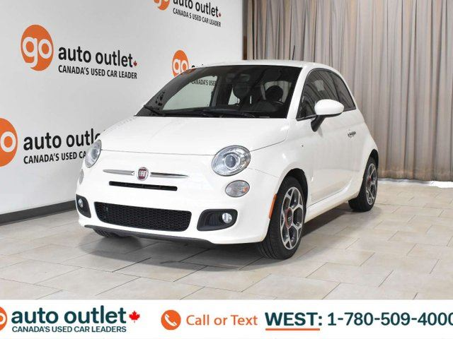 2016 FIAT 500 SPORT, FWD, HATCHBACK, LEATHER/CLOTH SEATS in Edmonton, Alberta