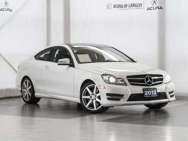 2013 MERCEDES-BENZ C-Class 4MATIC Coupe in Langley, British Columbia