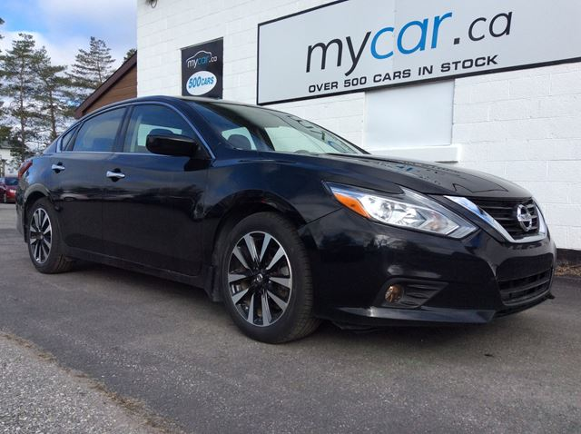 2018 NISSAN Altima 2.5 SV SUNROOF, HEATED SEATS, BACKUP CAM!! in North Bay, Ontario