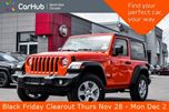 2019 Jeep Wrangler Sport S New Car Conve,Cold.Wthr,Tech,Safety.Pkgs Backup.Cam Keyless.Go  in Thornhill, Ontario