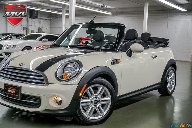 2014 Mini Convertible Cooper Accident Free Low Mileage Automatic