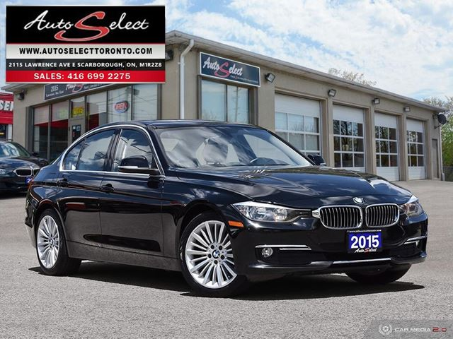 2015 BMW 3 Series xDrive AWD ONLY 85K! **COMFORT PKG** CLEAN CARPROOF in Scarborough, Ontario