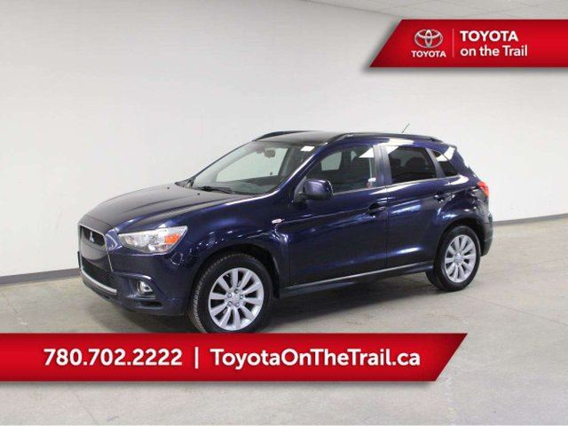 2011 MITSUBISHI RVR GT AWD; GLASS ROOF, SMART KEY, PREMIUM AUDIO WITH SUBWOOFER, HEATED SEATS, A/C, BLUETOOTH in Edmonton, Alberta