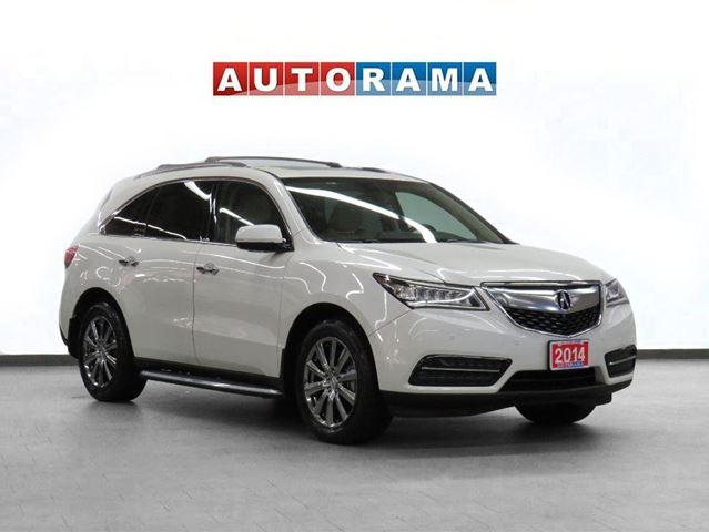 2014 Acura MDX Elite AWD Navigation Leather Sunroof Backup Cam in