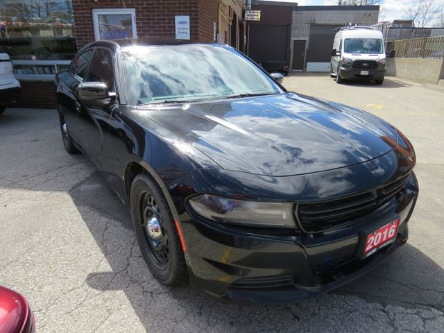 2016 Dodge Charger Police Pursuit in
