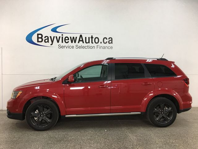 2018 Dodge Journey Crossroad - AWD! HTD LEATHER! NAV! SUNROOF! DVD! in