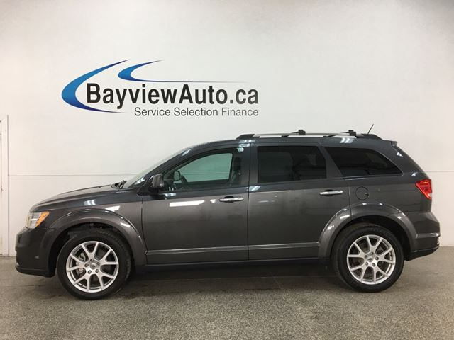 2018 Dodge Journey GT - AWD! HTD LEATHER! NAV! SUNROOF! DVD! in