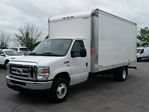 2018 Ford E-450 16' CUBE/BOX/STAKE TRUCK-C/W RAMP in Belleville, Ontario