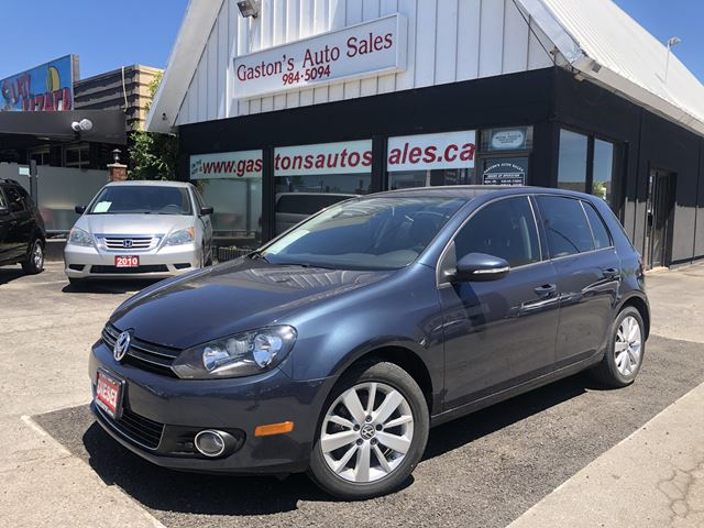 2013 VOLKSWAGEN GOLF TDI! BLUETOOTH! HEATED SEATS! in St Catharines, Ontario