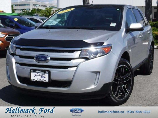 2014 Ford Edge SEL Sport AWD w Nav, Leather, Roof in
