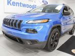 2017 Jeep Cherokee SPORT Altitude 4WD with heated seats and a heated steering wheel in Edmonton, Alberta