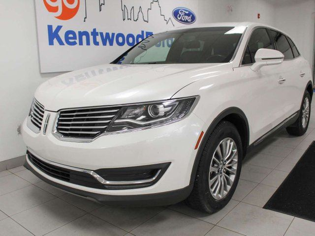 2016 LINCOLN MKX MKX AWD with NAV, heated power leather seats, power liftgate, back up cam in Edmonton, Alberta