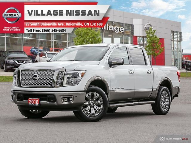 2018 Nissan Titan Platinum NO ACCIDENTS! in