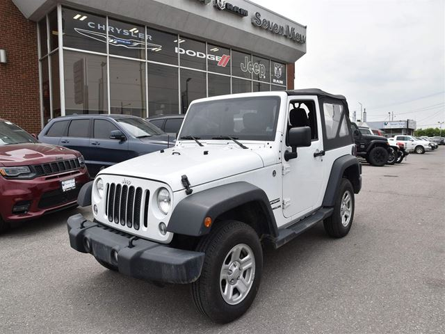 2014 JEEP Wrangler Sport AUTOMATIC/AIR CONDITIONING  in Concord, Ontario