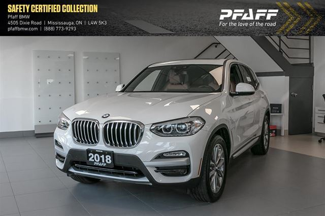 2018 BMW X3 xDrive30i in Mississauga, Ontario