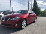 2010 Lexus IS 250 ACCIDENT FREE, AWD, AUTOMATIC, BLUETOOTH, SUNROOF,  in Ottawa, Ontario
