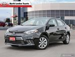 2015 Toyota Corolla LE One Owner, No Accidents, Toyota Serviced in London, Ontario