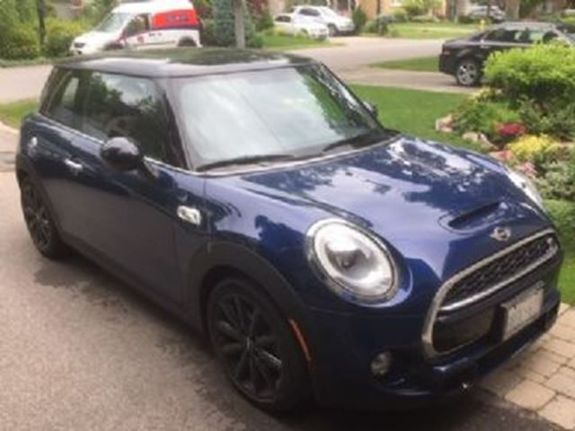 2017 MINI COOPER S w/Essentials & LED Lights Packages in Mississauga, Ontario