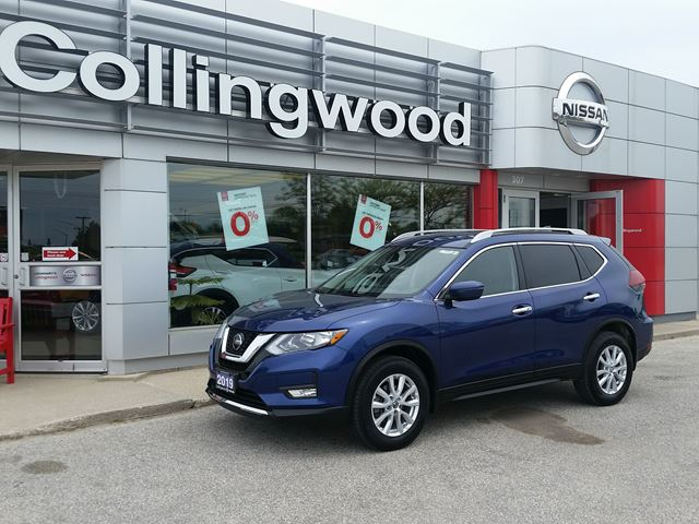2019 NISSAN Rogue SV AWD *COMPANY DEMO* in Collingwood, Ontario