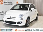 2015 Fiat 500 Sport, fwd, hatchback, sport mode, leather & cloth inserted seats in Edmonton, Alberta
