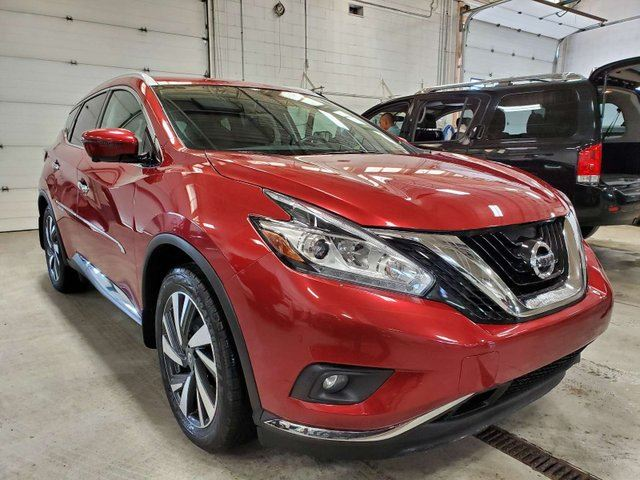 2016 NISSAN Murano Platinum 4dr AWD Sport Utility, Cooled Seats, Navigation in Calgary, Alberta