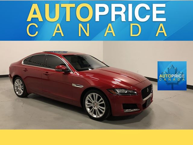 2017 JAGUAR XF 20d Prestige NAVIGATION|PANOROOF|LEATHER in Mississauga, Ontario