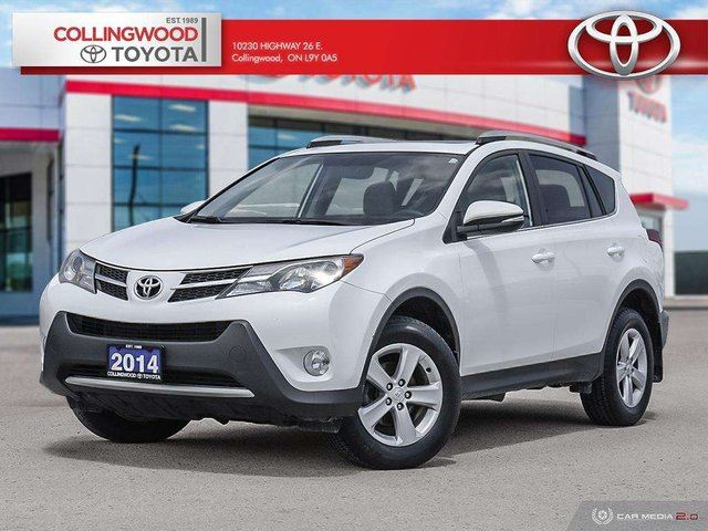 2014 TOYOTA RAV4 XLE AWD ONE OWNER TWO SETS OF TIRES in Collingwood, Ontario