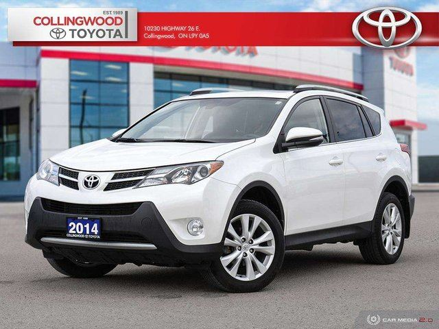 2014 Toyota RAV4 LIMITED AWD ONE OWNER SOLD AND SERVICED HERE in