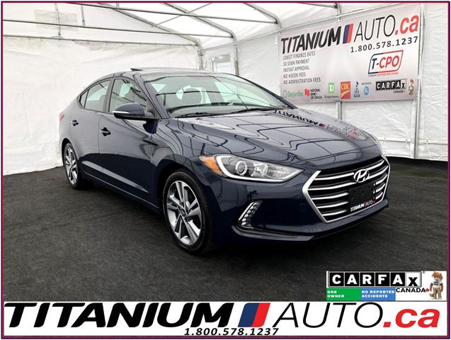 2017 Hyundai Elantra GLS+Camera+Sunroof+Blind Spot+Apple Play+Heated Se in