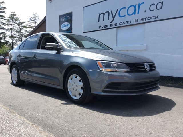 2015 VOLKSWAGEN Jetta 1.8 TSI Trendline+ 1.8T, HEATED SEATS, PWR GROUP!! in Richmond, Ontario