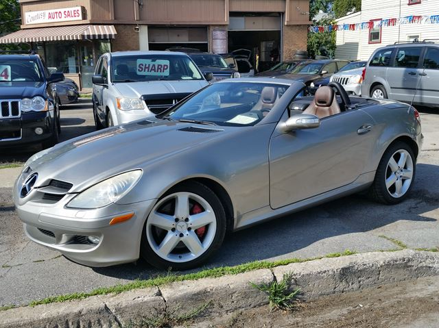 2005 MERCEDES-BENZ SLK-Class 3.5L Hardtop C/V  Florida Car-Rust Free! in St Catharines, Ontario