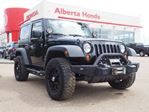 2011 Jeep Wrangler Sport. Cruise Control. Sirius Radio. Bluetooth Phone Call. AUX. Tire Pressure Sensor. Auxiliary Lighting, Front Winch. Tinted Windows. in Edmonton, Alberta