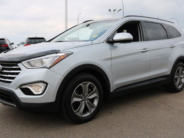 2014 HYUNDAI Santa Fe AWD XL LUXURY Accident Free, Leather, Heated Seats, 3rd Row, Panoramic Roof, Back-up Cam, - Us in Sherwood Park, Alberta