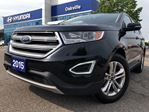 2015 Ford Edge SEL  NAVI  PAN ROOF  LEATHER  NO ACCIDENT in Oakville, Ontario