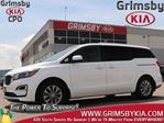 2019 Kia Sedona LX 3rd Row Backup Cam Heat Seat Steer in Grimsby, Ontario