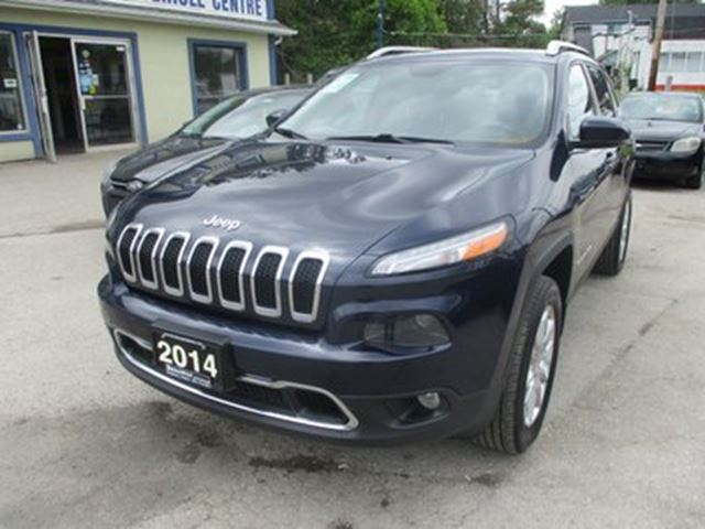2014 Jeep Cherokee LOADED LIMITED EDITION 5 PASSENGER 2.4L - DOHC. in