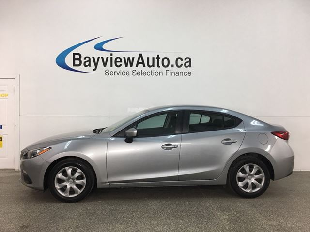2016 MAZDA MAZDA3 G - 6SPD! 45,000KMS! FULL PWR GROUP!  in Belleville, Ontario