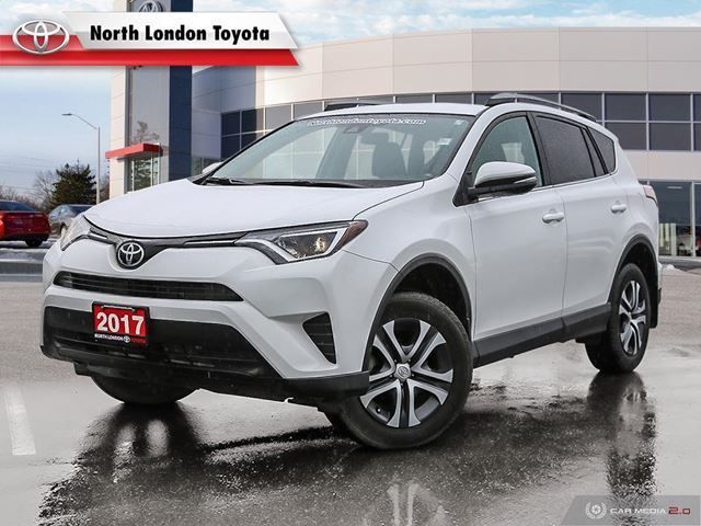 2017 Toyota RAV4 LE One Owner, No Accidents, Toyota Serviced in