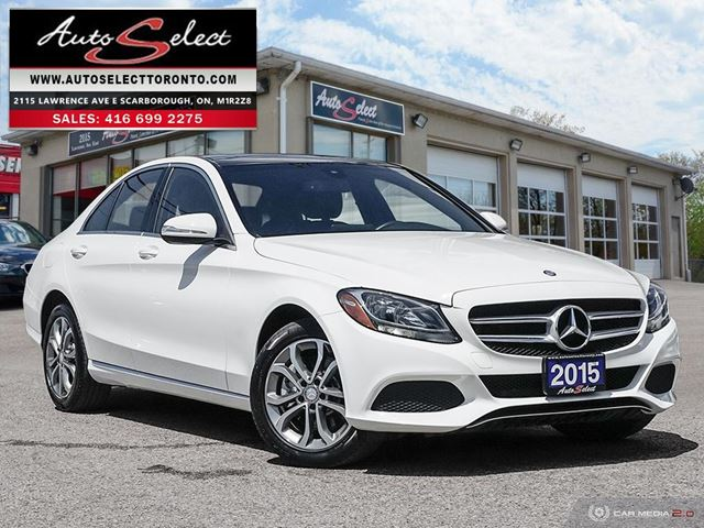 2015 MERCEDES-BENZ C-CLASS 4Matic C300 AWD ONLY 49K! **TECHNOLOGY PKG** PREMIUM PKG in Scarborough, Ontario