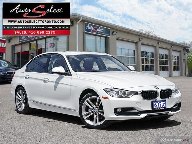 2015 BMW 3 SERIES xDrive AWD ONLY 90K! **SPORT PKG** CLEAN CARPROOF  in Scarborough, Ontario