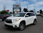 2015 Toyota Highlander XLE AWD ONLY $19 DOWN $120/WKLY!! in Ottawa, Ontario