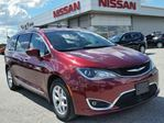 2017 Chrysler Pacifica Touring-L Plus w/3rd row stow & go seating,NAV,dual DVD entertainment system,climate control,rear cam,pwr sliding doors in Cambridge, Ontario