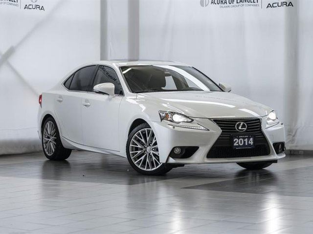 2014 LEXUS IS 250 AWD 6A in Langley, British Columbia