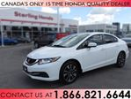 2015 Honda Civic EX | HONDA CERTIFIED | 1 OWNER | NO ACCIDENTS in Hamilton, Ontario