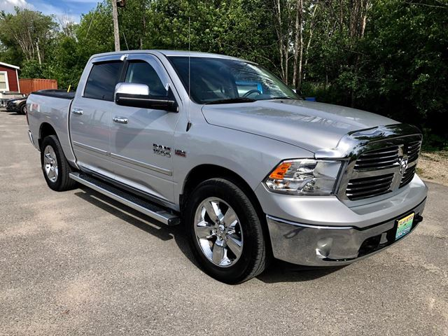 2015 Dodge RAM 1500 Big Horn with only 81500 km in
