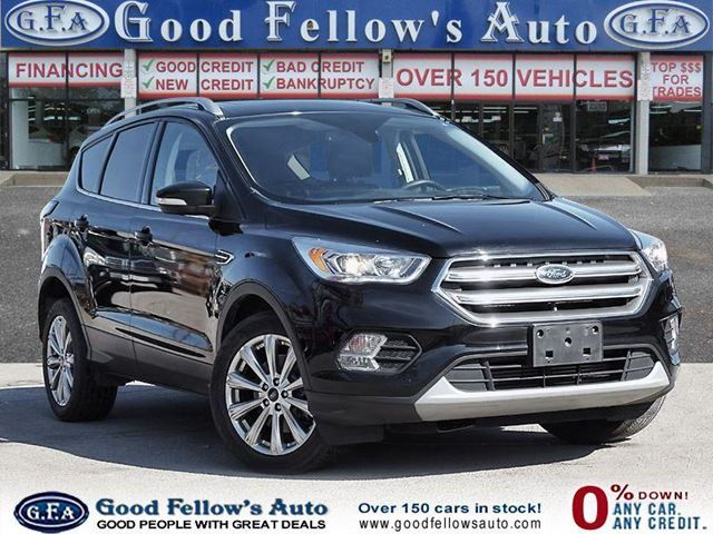 2017 FORD Escape TITANIUM, LEATHER SEATS, NAVIGATION, 4WD, 2.0L ECO in North York, Ontario