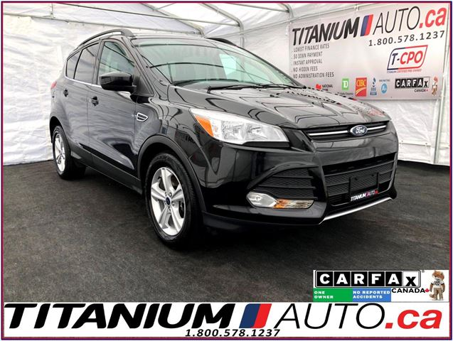 2015 Ford Escape SE 2.0+Camera+Pano Roof+Leather+Power Lift Gate+XM in