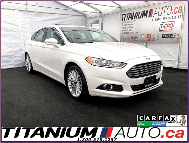2016 Ford Fusion SE 2.0+GPS+Camera+Sunroof+Leather Heated Seats+XM+ in